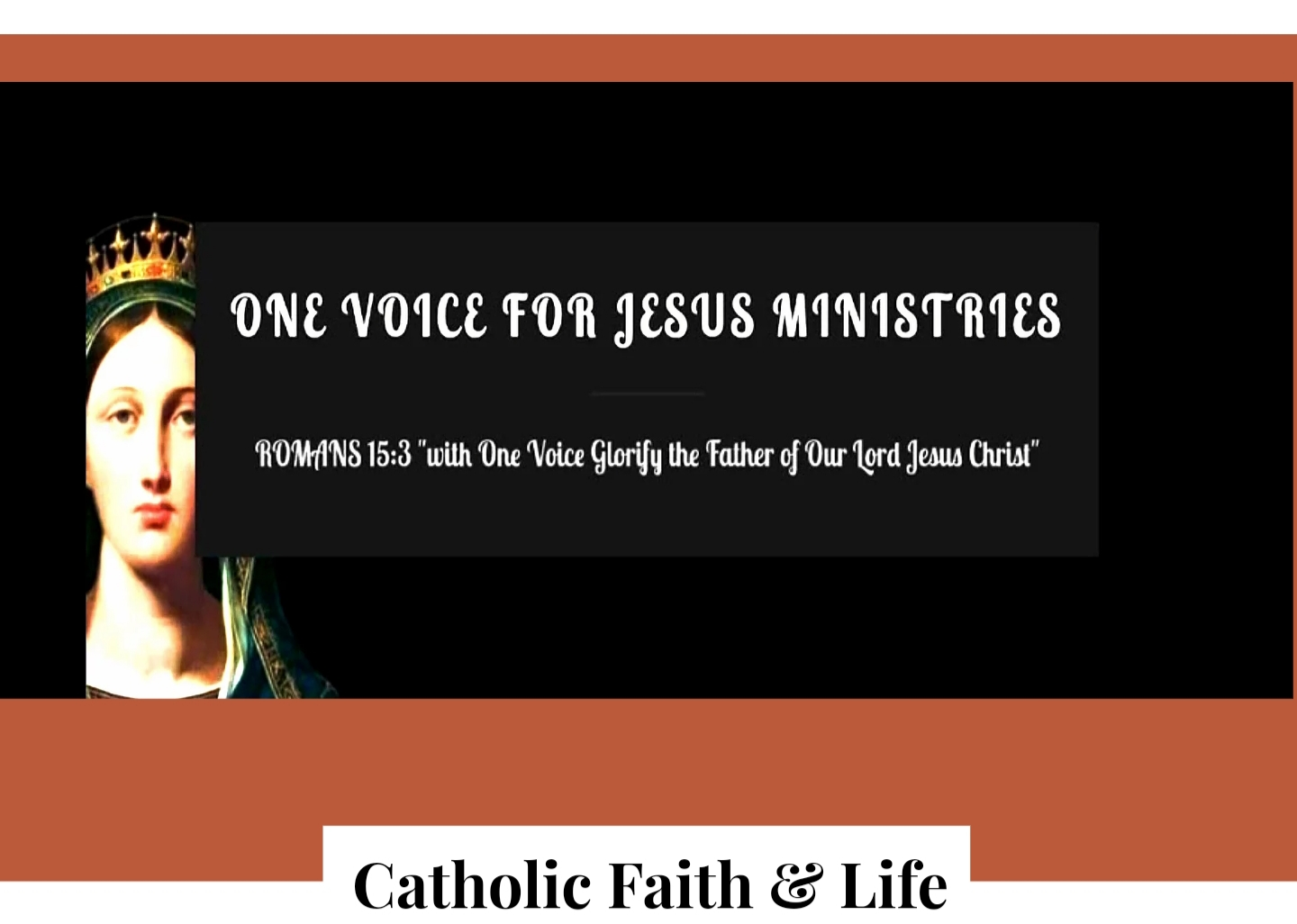 One Voice for Jesus Ministries